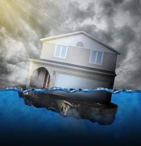 Sinking house